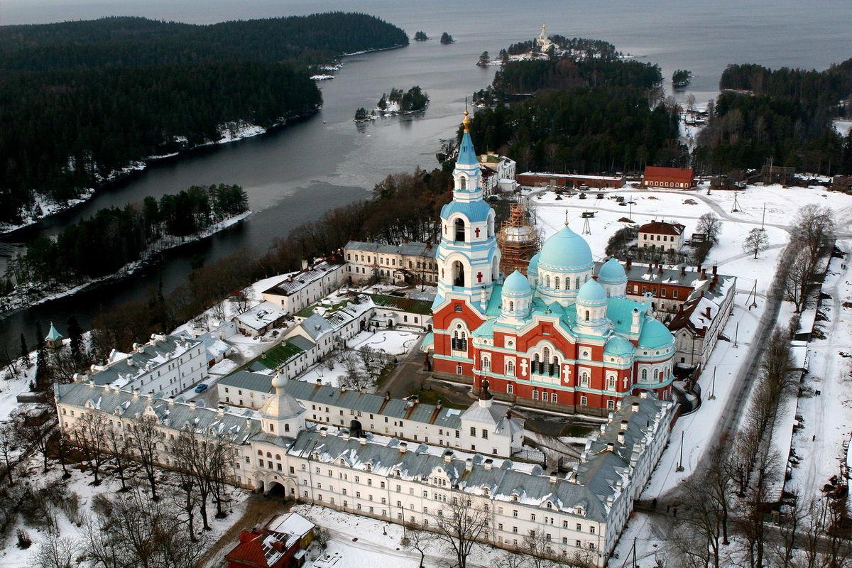 валаамский монастырь фото исполнение