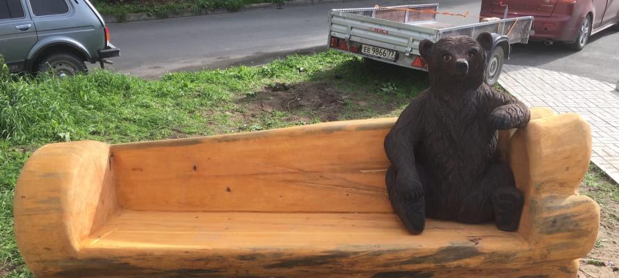 все ярлыке медведь на улице в петрозаводске фото той фишки, что