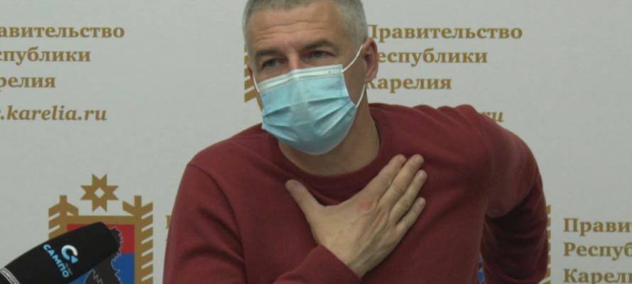 Парфенчиков вновь запретил массовые мероприятия в Карелии на фоне роста числа заражений коронавирусом