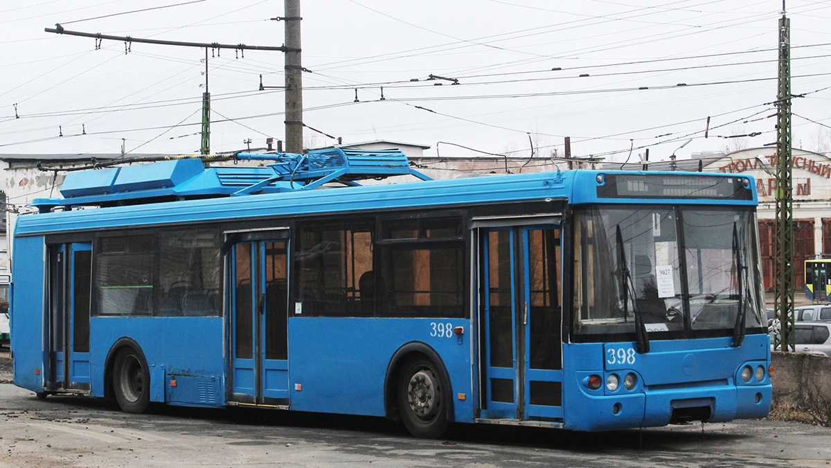 Троллейбусному движению в столице Карелии исполняется 60 лет